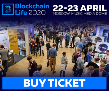 Digitalscouting.de is a media partner of 5th Annual Blockchain Life 2020 on April 22 - 23, 2020 in Moscow.