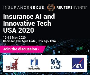 Digitalscouting is a media partner of Insurance AI and Innovative Tech USA 2020 on May 12 - 13, 2020 in Radisson Blu Aqua Hotel, Chicago, USA