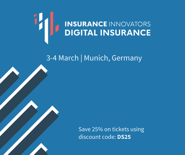 Digitalscouting is a media partner of Insurance Innovators: Digital Insurance March 3-4, 2020 in Munich, Germany.
