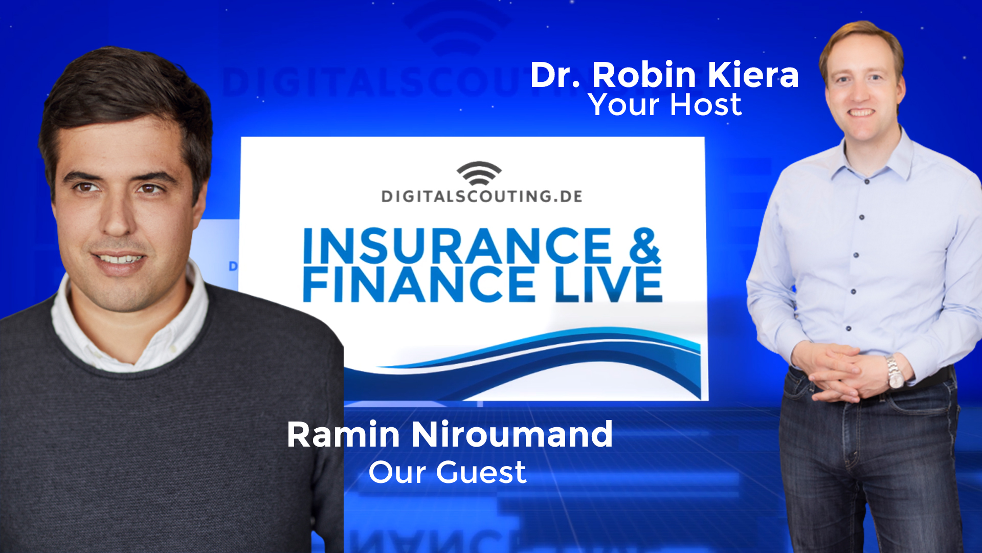 Insurance and Finance LIVE with Ramin Niroumand CEO of Finleap
