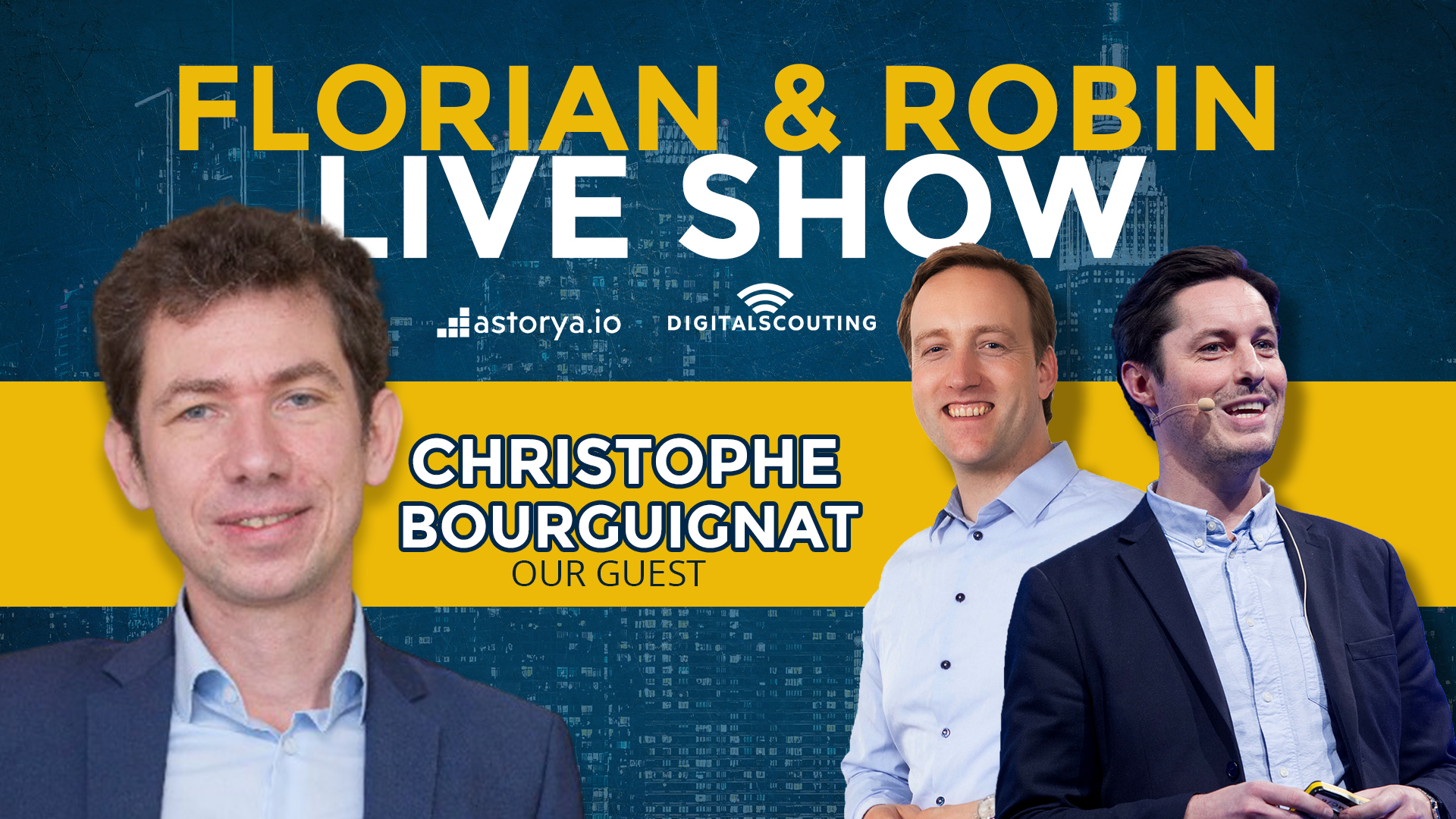 Florian and Robin Show with Christophe Bourguignat CEO of Zelros