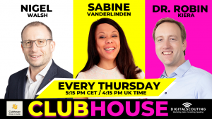 Weekly Insurance Clubhouse Drop-In with Nigel Walsh, Sabine VanderLinden and Dr. Robin Kiera
