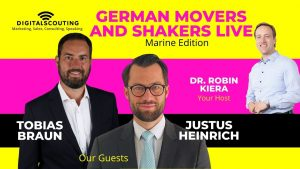 German Movers and Shakers LIVE Marine Edition with Tobias Braun of Lampe & Schwartze Group and Justus Heinrich of Allianz